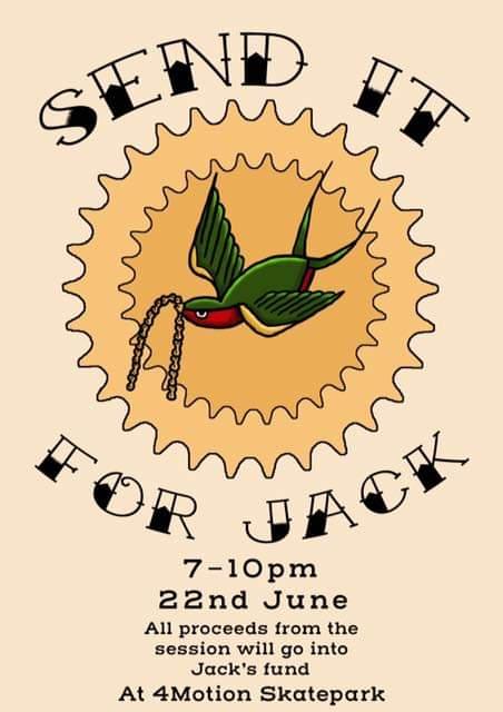 Send it for Jack @ 4Motion Darlington