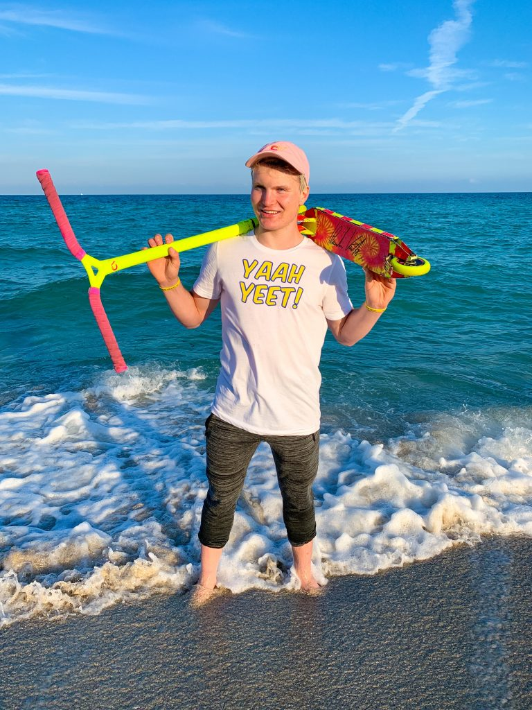 Ride With Claudius Vertesi @ 4 Motion Skatepark