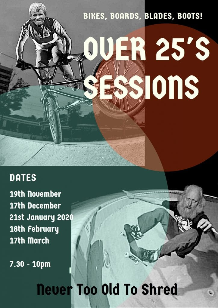 Over 25's Session @ 4Motion Skatepark