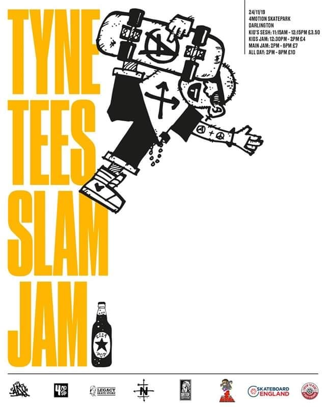 2019 Tyne Tees Slam Jam @ 4Motion Skatepark
